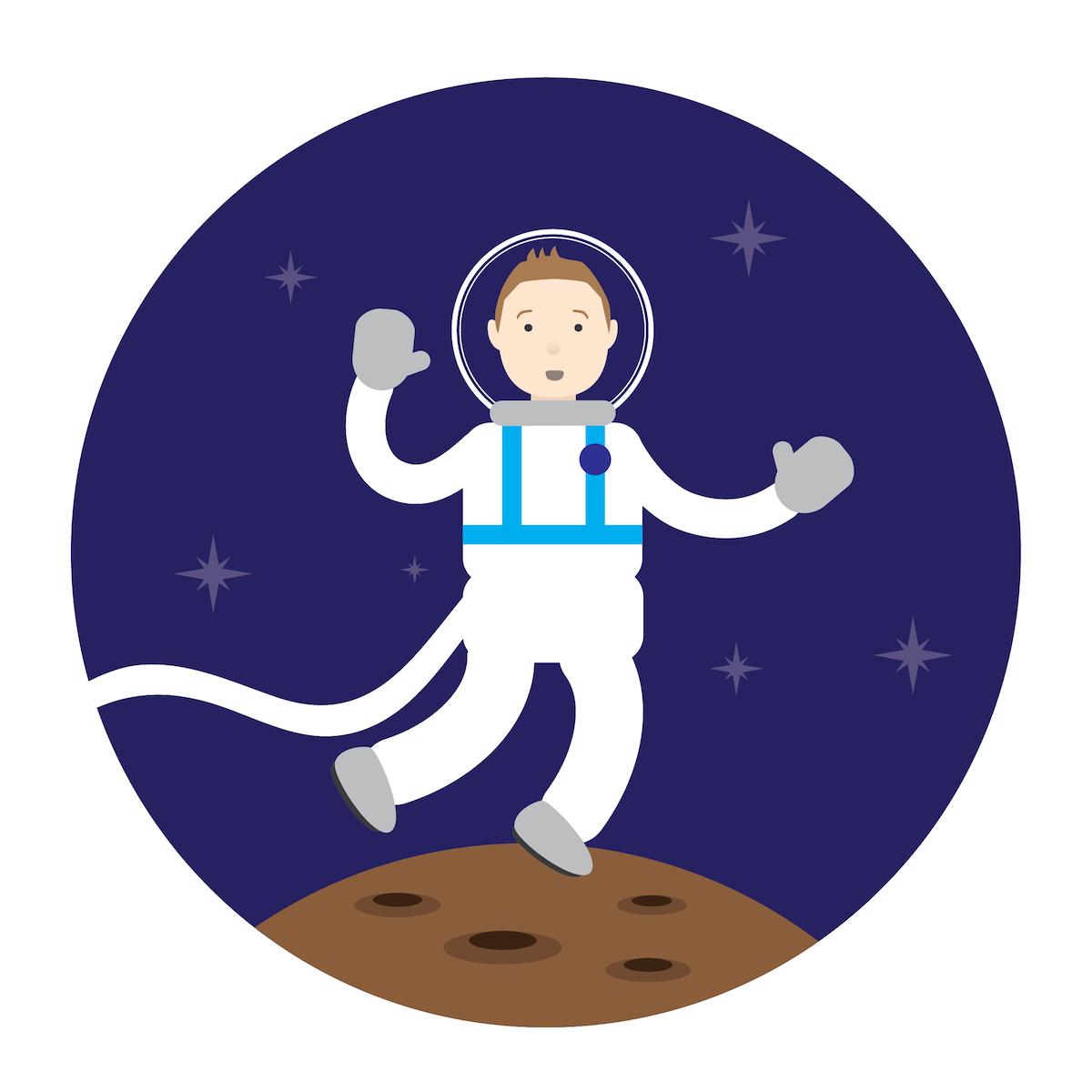 Take a trip to space #4